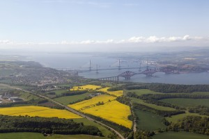 Ariel View of Queensferry Crossing
